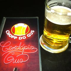 Photo taken at Chopp do Gus by Cleison P. on 2/28/2013