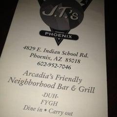 Photo taken at JT's Bar & Grill by Jeremy B. on 11/25/2012