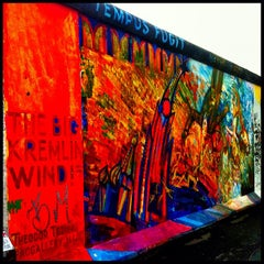 Photo taken at East Side Gallery by Leigh Ann S. on 10/31/2012
