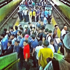 Photo taken at Yellow Line - Buendia Station by Mark B. on 4/4/2013