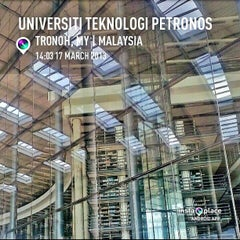 Photo taken at Universiti Teknologi PETRONAS (UTP) by Fairus K. on 3/17/2013