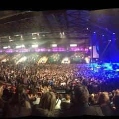 Photo taken at Metro Radio Arena by Katie W. on 3/11/2013