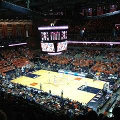 Photo taken at John Paul Jones Arena by Wesley R. on 2/24/2013