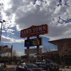 Photo taken at Sam's Town Hotel & Gambling Hall by Luis Q. on 3/15/2013