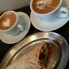 Photo taken at Mahogny Coffee Bar by Cairynne K. on 3/22/2016