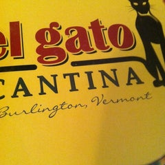 Photo taken at El Gato Cantina by Alyssa B. on 11/5/2012