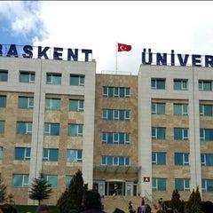 Photo taken at Başkent Üniversitesi by Burcu F. on 3/29/2013