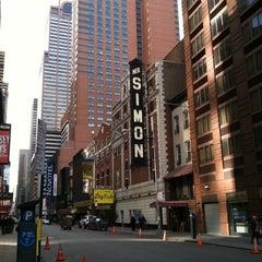 Photo taken at Neil Simon Theatre by Kelly B. on 11/10/2013