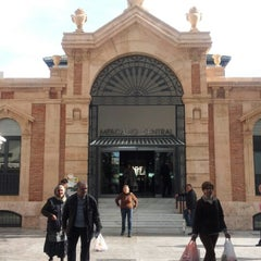 Photo taken at Mercado Central de Almería by Agente S. on 12/21/2012