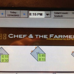 Photo taken at Chef & The Farmer by Jamie K. on 12/14/2012