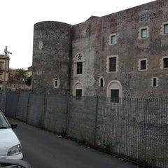 Photo taken at Castello Ursino by Nadia L. on 5/3/2013
