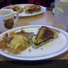 Photo taken at Waffle House by Alec F. on 12/4/2012