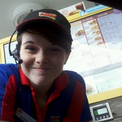 Photo taken at SONIC Drive In by Alec F. on 12/4/2012