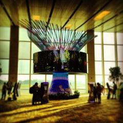 Photo taken at Singapore Changi Airport (SIN) by Roy F. on 7/17/2013