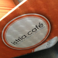 Photo taken at Istria Cafe by Dan C. on 1/17/2013
