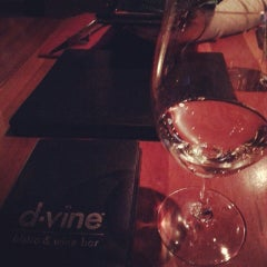 Photo taken at D'Vine Wine Bar by D.I.L.L.I.G.A.F. on 1/9/2014