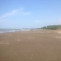 Photo taken at Pantai Alam Indah (PAI) Tegal by Alexander S. on 5/6/2015