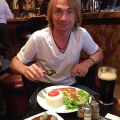 Photo taken at Week End Café by Василий К. on 9/25/2013