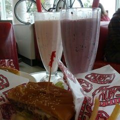 Photo taken at Ruby's Diner by Ashley B. on 5/5/2013