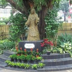Photo taken at Gereja Katolik Santo Yohanes Penginjil by Nicky S. on 10/26/2012
