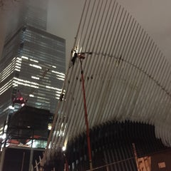 Photo taken at World Trade Center Construction Security by yokooo on 12/23/2014