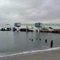 Photo taken at Brackett's Landing by Max M. on 11/30/2012