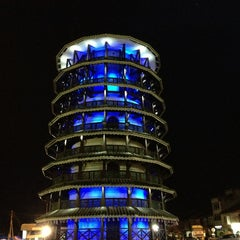 Photo taken at Menara Condong (Leaning Tower) by Daniel on 12/20/2012