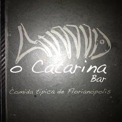 Photo taken at O Catarina Bar by Ana Claudia B. on 1/12/2013