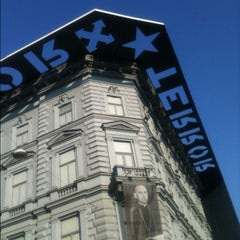 Photo taken at Terror Háza | House of Terror Museum by Alan V. on 12/13/2012