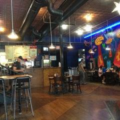 Photo taken at Austin's Pizza by Emre U. on 9/12/2013