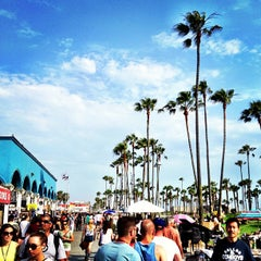 Photo taken at Venice Beach by Blake on 7/2/2013