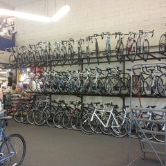 Photo taken at Missing Link Bicycle Cooperative by Rod S. on 5/5/2013
