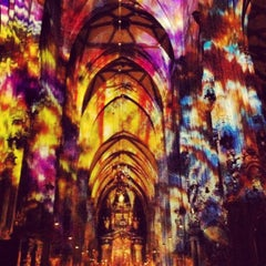 Photo taken at Stephansdom | St. Stephen's Cathedral by Ergul A. on 12/18/2012