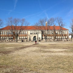 Photo taken at Brown vs. Board of Education National Historic Site by Megan S. on 2/17/2013