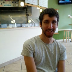 Photo taken at Hummus House Pitas and Salads by Nicholas T. on 11/28/2012