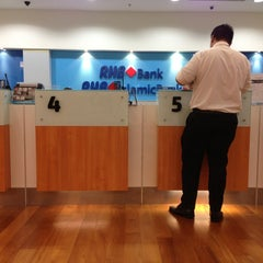 Photo taken at RHB Bank by Falax M. on 5/25/2013