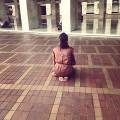 Photo taken at Masjid Istiqlal by Amparo C. on 8/6/2014