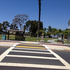 Photo taken at Old Trolley Barn Park by Duyen F. on 8/15/2013