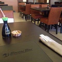 Photo taken at Bonsai Sushi by Vanessa S. on 11/9/2014