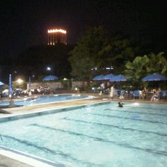 Photo taken at Swimming Pool by First P. on 10/28/2012