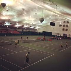 Photo taken at Billingsley Tennis Center by Daniel B. on 2/9/2014