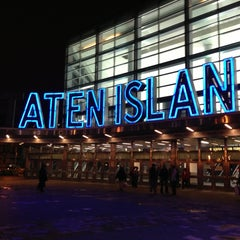 Photo taken at Staten Island Ferry - Whitehall Terminal by Helen S. on 5/25/2013