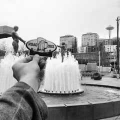 Photo taken at Father & Son Fountain by Road Dog Tours on 3/25/2014