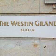 Das Foto wurde bei The Westin Grand Berlin von Alexios R. am 3/1/2013 aufgenommen