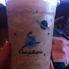 Photo taken at Caribou Coffee by Evie O. on 8/23/2013