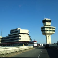 Photo taken at Berlin-Tegel Airport Otto Lilienthal (TXL) by Sven D. on 7/7/2013
