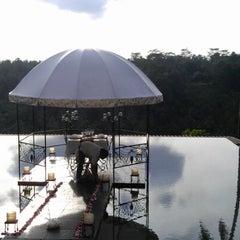Photo taken at Kupu Kupu Barong Resort And Tree Spa by LemonJuice on 2/6/2013