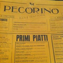 Photo taken at Pecorino Bar & Trattoria by Cinthia M. on 6/3/2012