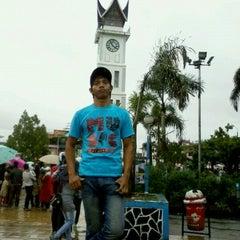 Photo taken at Jam Gadang by amsa r. on 12/24/2012