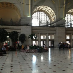 Photo taken at Union Station by Dorothy🐾Boo L. on 6/26/2013